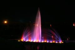 Light and fountain 4 Royalty Free Stock Photography