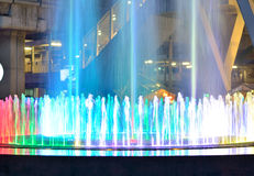Light fountains Stock Photos
