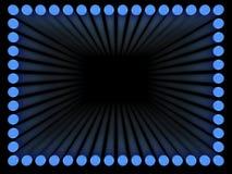 Light frame vector illustration