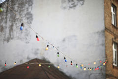 Light garland Royalty Free Stock Images
