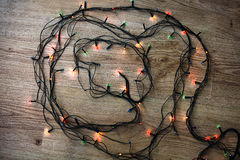 Light garland Stock Photography