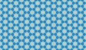 Light gentle background of floral ornament. For your greeting cards. blue color. Raster copy illustration. for the design, printing, postcards. seamless pattern Royalty Free Stock Image