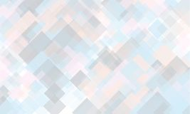 Light geometric background. Light, translucent, transparent squares with overlapping Backdrop in a modern minimalist style. Light geometric background. Light Royalty Free Stock Photo