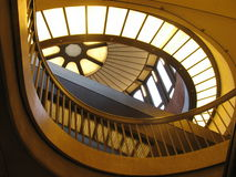 Light glass curves art Stock Images