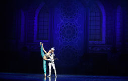 "The light of God's gratitude- ballet ""One Thousand and One Nights"" Stock Photo"