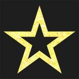 Light gold star Stock Photos