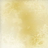 Light golden watercolor brush strokes Royalty Free Stock Photos