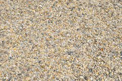 Light gravel Royalty Free Stock Image