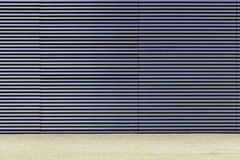 Light gray and blue wall Royalty Free Stock Photography