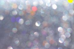Light gray bokeh abstract patterns background. Close up Light gray bokeh abstract patterns background royalty free stock photos