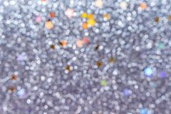 Light gray bokeh abstract patterns background. Close up Light gray bokeh abstract patterns background stock image