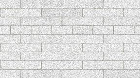 Light gray brick wall abstract background. Texture of bricks. Vector illustration. Template design for web banners stock illustration