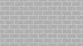 Light gray brick wall abstract background. Texture of bricks. Vector illustration royalty free illustration