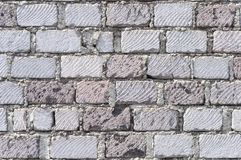 Light gray brick wall texture Royalty Free Stock Photography