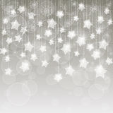Light gray christmas background Royalty Free Stock Photo