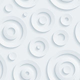 Light gray circles walpaper. Stock Photo