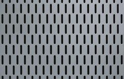 Light gray color aluminium pattern Stock Photography