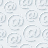 Light gray e-mail wallpaper. Stock Photo
