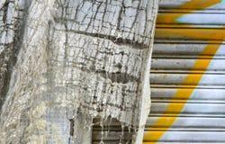 Light gray fabric texture Stock Photos