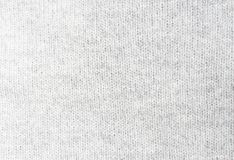 Light gray knitwork. Light gray wool knitwork texture. Light gray wool knitwork full frame for warming backdrop or background Royalty Free Stock Photos