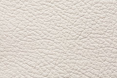 Light gray leather texture Royalty Free Stock Photography