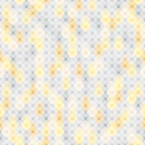 Light-gray seamless background with a pattern of squares with rounded corners. Seamless pattern of light grey and yellow elements in the form of squares Royalty Free Stock Photography