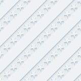 Light gray stars and stripes wallpaper. 3d seamless background. Vector EPS10 Royalty Free Stock Image