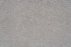 Light gray stucco wall. Textural background. Royalty Free Stock Photos