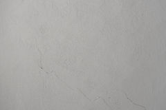 Light gray texture of old wall with cracks Stock Image