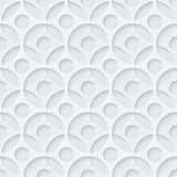 Light grayperforated paper. Stock Photo