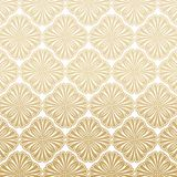 Light Gatsby Art Deco Pattern Background Design. Light Great Gatsby Art Deco Pattern Background Design in Gold and White Color royalty free illustration
