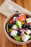 Light greek salad Royalty Free Stock Images