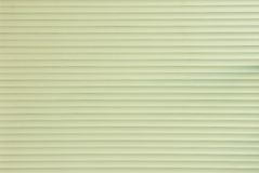 Light Green Background of Roller Door Royalty Free Stock Images