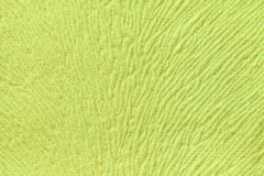 Light green background from soft textile material. Fabric with natural texture. Stock Photography