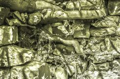 Light green background, tree roots sprout throgh big stones. Light green background, tree roots sprout throgh big  stones, overcoming obstacles royalty free stock photo