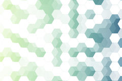 Light green and blue hexagon transparency. eps10 Royalty Free Stock Images