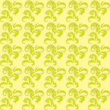 Light green floral seamless background - vector Royalty Free Stock Photography