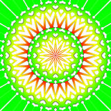 Light green flower mandala stock photos