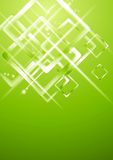 Light green geometrical vector design Stock Image