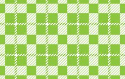 Light green Gingham pattern. Texture from rhombus for - plaid, tablecloths,shirts,dresses,paper,bedding,blankets,quilts and other. Textile products.Vector stock illustration