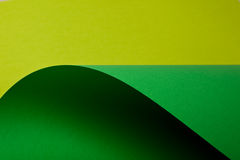 Light green and green cardboard Royalty Free Stock Photo