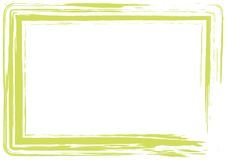 Light green grunge frame royalty free illustration