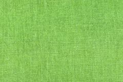 Light green linen texture for the background Stock Photography