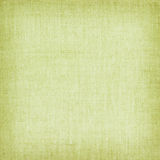 Light green natural linen texture for the background Stock Photography