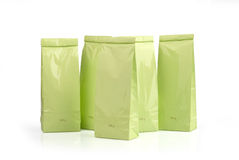 Light green packages Royalty Free Stock Images