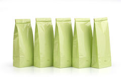 Light green packages Royalty Free Stock Image