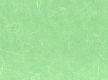 Light green paper. A surface of light green japanese paper Royalty Free Stock Photos