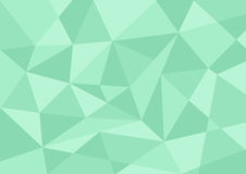 Light green pastel color polygon background Royalty Free Stock Photo