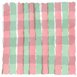 Light green red white stripe pastel in valentine day Stock Images