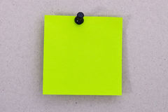 Light green reminder list Royalty Free Stock Image